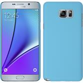 Hardcase Galaxy Note 5 gummiert hellblau