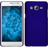 Hardcase Galaxy On5 gummiert blau + 2 Schutzfolien