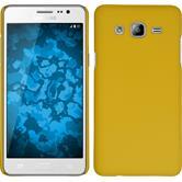 Hardcase Galaxy On5 gummiert gelb