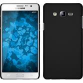Hardcase Galaxy On7 gummiert schwarz