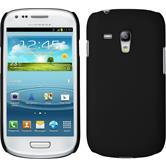 Hardcase für Samsung Galaxy S3 Mini gummiert schwarz
