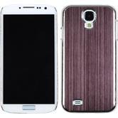 Hardcase Galaxy S4 Metallic braun