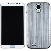 Hardcase for Samsung Galaxy S4 metallic silver