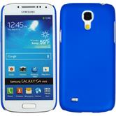 Hardcase for Samsung Galaxy S4 Mini rubberized blue