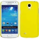 Hardcase Galaxy S4 Mini gummiert gelb