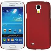 Hardcase for Samsung Galaxy S4 Mini rubberized red