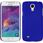 Hardcase Galaxy S4 Mini Plus I9195 gummiert blau