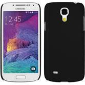 Hardcase für Samsung Galaxy S4 Mini Plus I9195 gummiert schwarz
