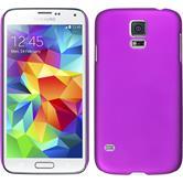 Hardcase Galaxy S5 gummiert lila