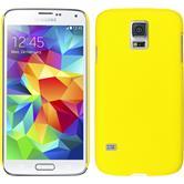 Hardcase Galaxy S5 mini gummiert gelb