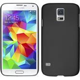 Hardcase Galaxy S5 mini gummiert schwarz