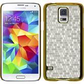 Hardcase für Samsung Galaxy S5 mini Hexagon weiß