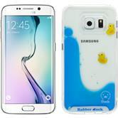 Hardcase für Samsung Galaxy S6 Edge Entchen Design:01