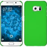 Hardcase Galaxy S6 Edge gummiert grün