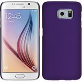 Hardcase Galaxy S6 gummiert lila