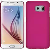 Hardcase Galaxy S6 gummiert pink
