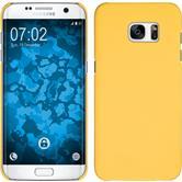 Hardcase Galaxy S7 Edge gummiert gelb Case