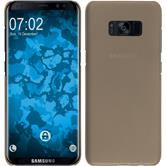 Hardcase Galaxy S8 Plus gummiert gold
