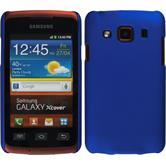 Hardcase Galaxy Xcover gummiert blau