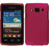 Hardcase for Samsung Galaxy Xcover rubberized hot pink