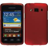 Hardcase for Samsung Galaxy Xcover rubberized red