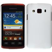 Hardcase for Samsung Galaxy Xcover rubberized white