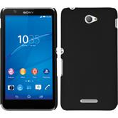 Hardcase for Sony Xperia E4 rubberized black