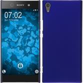 Hardcase Xperia XA1 Ultra gummiert blau