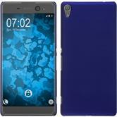 Hardcase Xperia XA Ultra gummiert blau Case