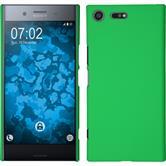 Hardcase Xperia XZ Premium gummiert grün