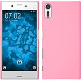 Hardcase Xperia XZs rubberized pink