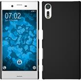 Hardcase Xperia XZs rubberized black