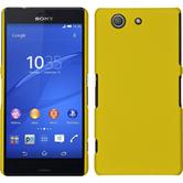 Hardcase Xperia Z3 Compact gummiert gelb