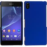 Hardcase for Sony Xperia Z2 rubberized blue