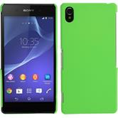 Hardcase for Sony Xperia Z2 rubberized green