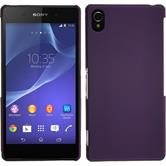 Hardcase for Sony Xperia Z2 rubberized purple