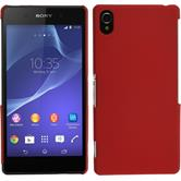 Hardcase for Sony Xperia Z2 rubberized red