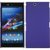 Hardcase for Sony Xperia Z Ultra rubberized purple