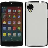 Hardcase for Google Nexus 5 leather optics white