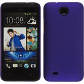 Hardcase for HTC Desire 300 rubberized purple