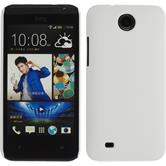 Hardcase for HTC Desire 300 rubberized white
