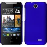 Hardcase for HTC Desire 310 rubberized blue