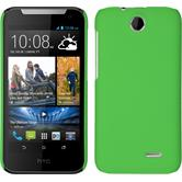 Hardcase for HTC Desire 310 rubberized green