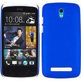 Hardcase for HTC Desire 500 rubberized blue
