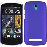 Hardcase for HTC Desire 500 rubberized purple