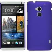 Hardcase for HTC One Max rubberized purple