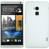 Hardcase for HTC One Max rubberized white