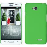 Hardcase for LG L70 rubberized green