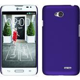 Hardcase for LG L70 rubberized purple
