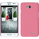 Hardcase for LG L70 rubberized pink